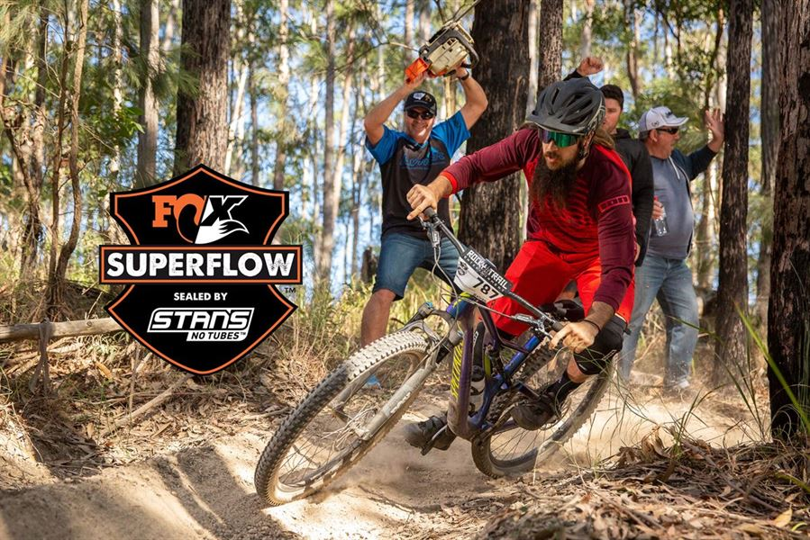 Fox Superflow sealed by Stan's - Championships
