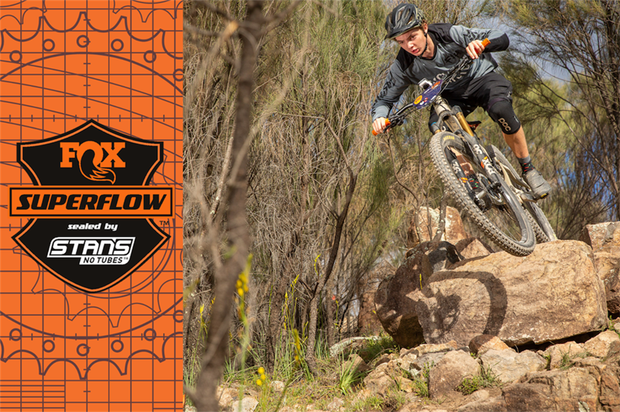 Fox Superlow sealed by Stan's Race ACT | Stromlo
